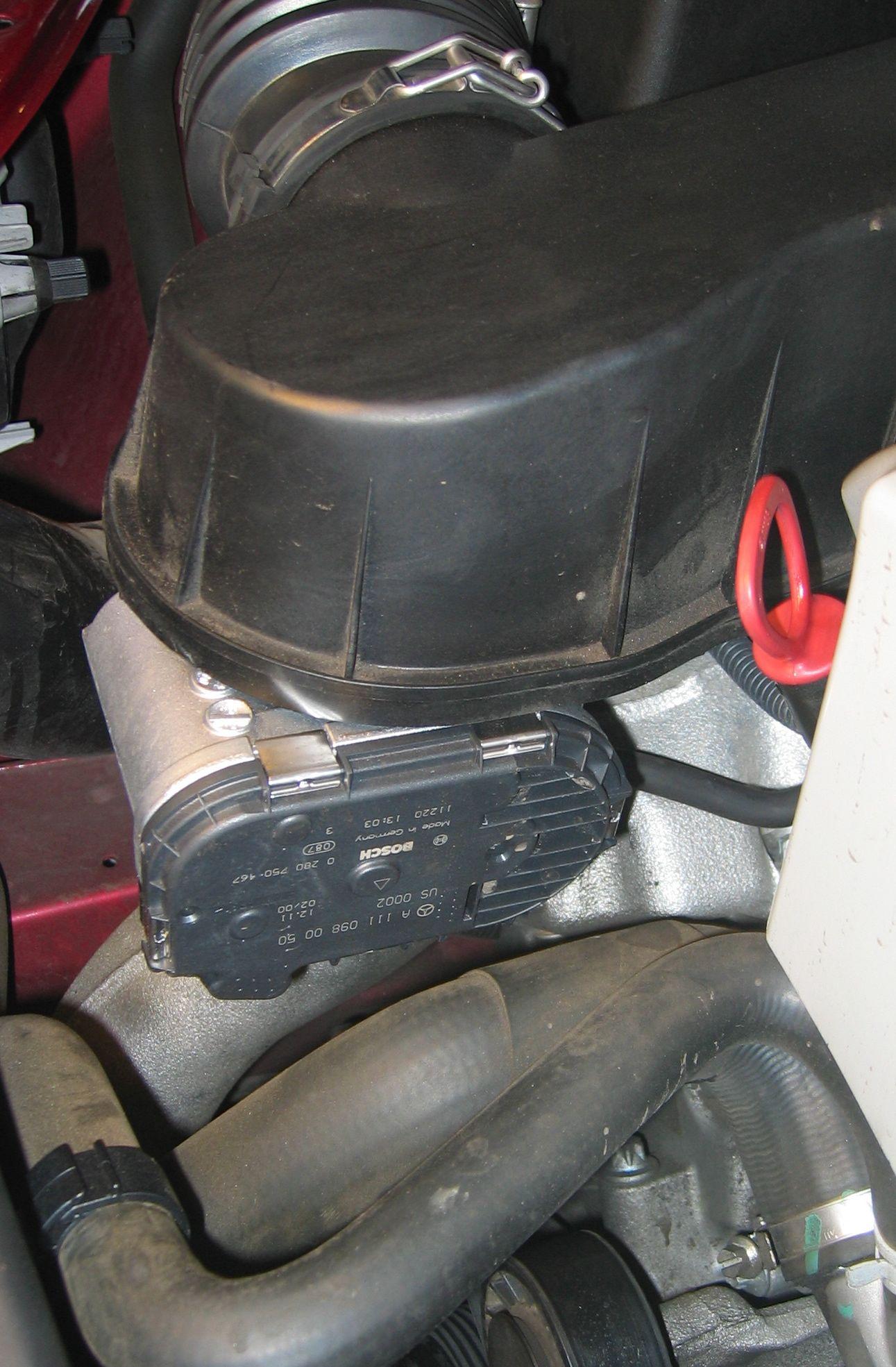 Mercedes 111-098-00-50 Recirculating Air Flap