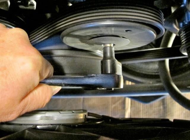2002 Mercedes SLK 230 rear belt tensioner