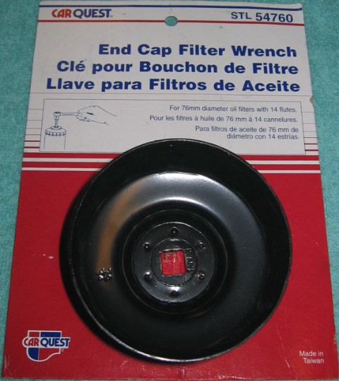 76mm End Cap Filter Wrench with 14 flutes
