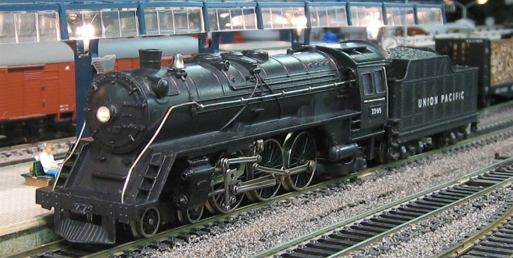 Fleischmann 1366 American 4-6-2 Union Pacific Steam Locomotive.