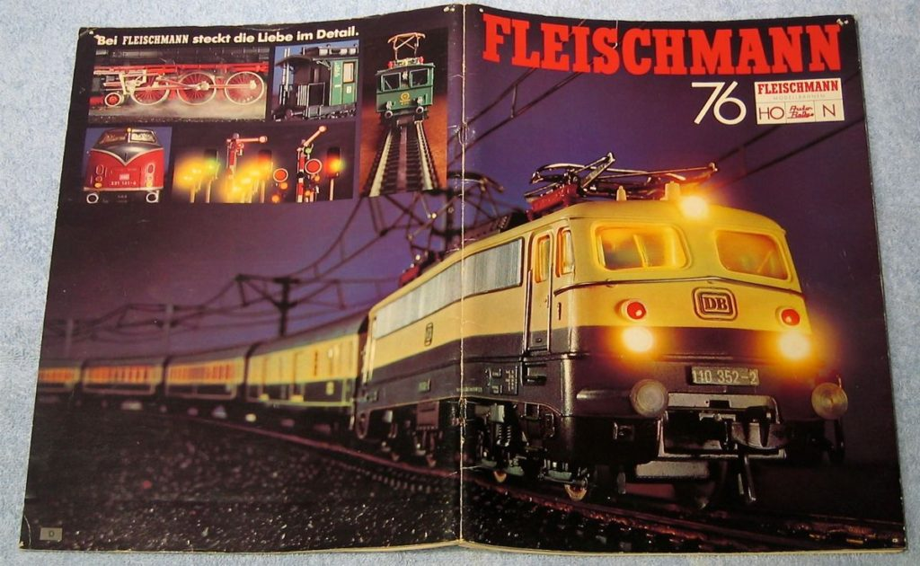 Fleischmann HO and N scale catalog.