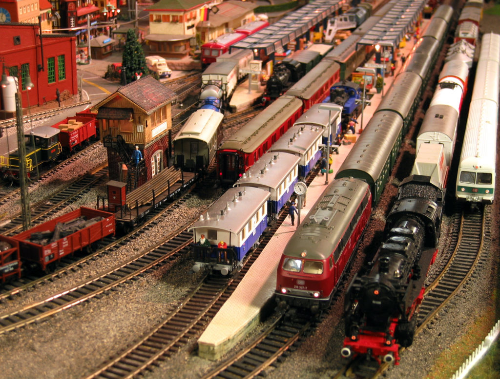 Lots of Trains!
